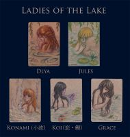 Ladies of the Lake - ACEO by XKimmaiX