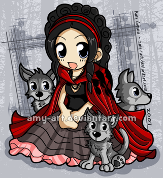 Amy Lee - Evanescence by amy-art