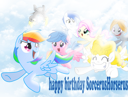 Happy birthday SorcerusHorserus by thegreatrouge