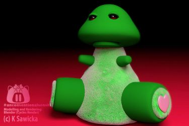 Meh Frog Plush by unconventionalsenshi
