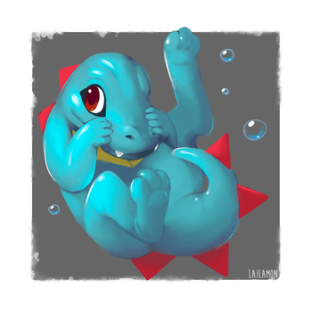 Totodile by Lailamon