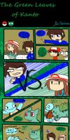 The Green Leaves of Kanto part 2 by StinkiesDraws