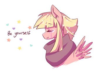 Be Yourself by ShiroShototsu