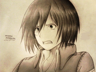 Mikasa, What Do you See? by YoDontTazeMeBro