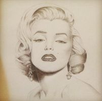 Marilyn Monroe by Mr-P-P-Hed