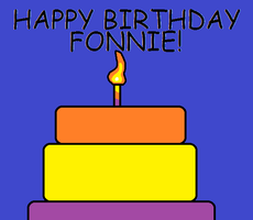 Happy Birthday Fonnie!!! by cjc728