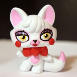Toy Foxy / Mangle from FNAF2 inspired LPS custom by pia-chu