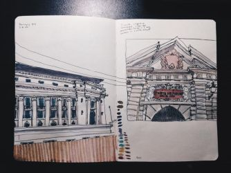 [Manila] National Museum + Puerto Real by jeantralala