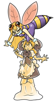 Soul bee marisa by ChaosOverlordZ