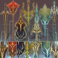 (CLOSED) - Weapon Set #008 - Spectrum of Sky by Timothy-Henri