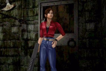 Claire Redfield REmake2 outfit - classic style by AvaCassandra