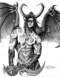 Illidan Stormrage - World of Warcraft by ShonnaWhite
