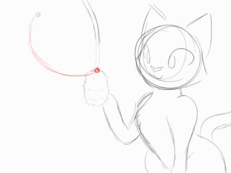 Power Cat WIP Animation by CHAOKOCartoons