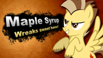 Maple Syrup OC #29 - Maple Syrup SSB Poster by Dxthegod