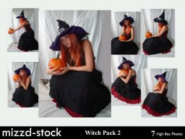 Witch Pack 2 by mizzd-stock
