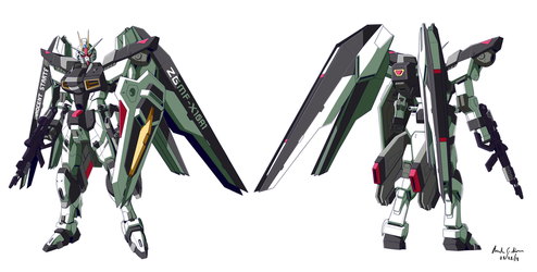 Commission: Star Freedom Gundam by innovator123