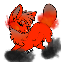 puppy adopt fire 15 points CLOSED by alicorngamingart