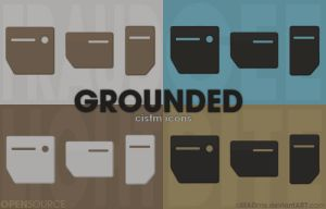 Grounded cistm icons by aMADme