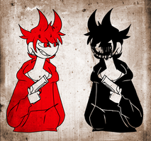 EDDSWORLD~ red and dead by Blitzuu