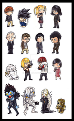 deathnote by EatToast