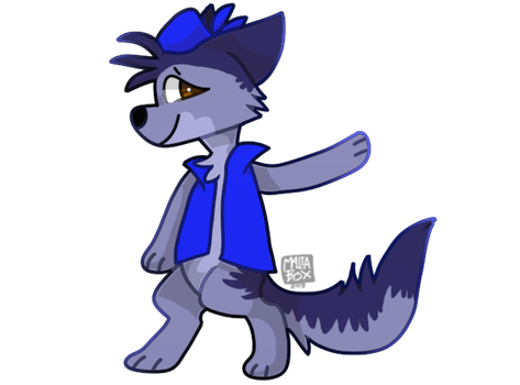 Look at me in Blue [Com] by Patrick-Clouds