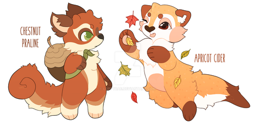 (AUCTION) Sweet Autumn Strudels. CLOSED! by loppyrae