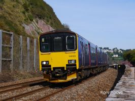 Great Western Railway 150120 at Teignmouth by The-Transport-Guild