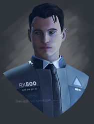 Connor Paint by StahliStorm