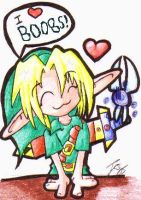 Perverted Link...Isn't He Cute by Pyrofish