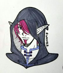 INKTOBER 2017 - Day 25 - Mysterious by zoro4me3