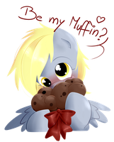Be my muffin? by secret-pony