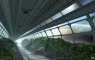 Space Tunnel 269 by maxq3d