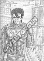 FANART-Superman traditional drawing