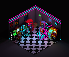Arcadia   Voxels by Rgznsk