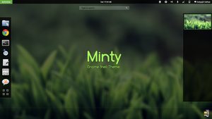Gnome Shell - Minty by satya164