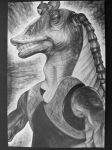Jar Jar Toy Drawing Ebony by 1234Megan1234