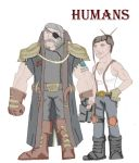 Human- Male and Female by Loganius