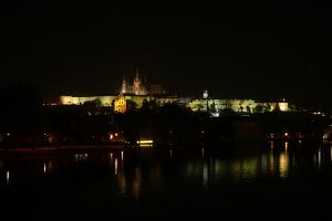 St. Vitus Cathedral at Night by AliusS