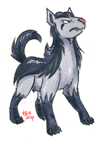 adamant mightyena by not-fun