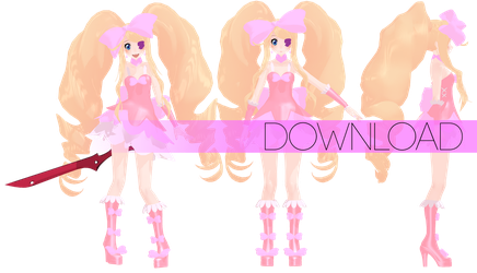 MMD Harime Nui DOWNLOAD by ThaamiChan
