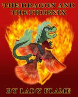 The Dragon and the Phoenix (Book Cover) by Lady-Flame