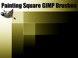 Painting Square GIMP Brushes (For GIMP 2.6) by PkGam