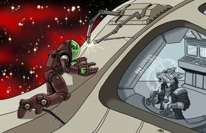 Repairing Station by ProdigyDuck