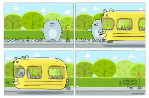 The Bear Bus by sebreg