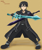 Kirito Art by Wessel