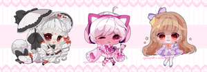 .CC. Nyannhime Collab CMs Batch #1 by nyannpuff