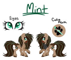 l + Mint - Main OC + l Official Ref 2018 by Mintoria