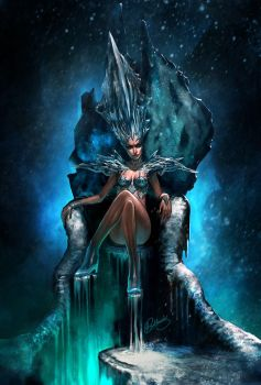 Ice Queen by 88grzes