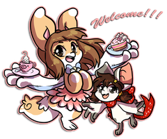 BB Welcome to Pink Piggy Cafe by QviCreations