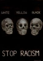 stop racism by pourin